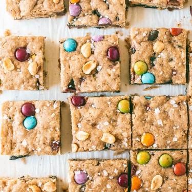 Monster Cookie Blondies Recipe   SideChef