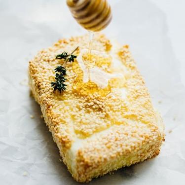 Sesame Crusted Baked Feta Recipe   SideChef