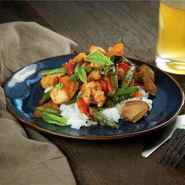 Chicken Basil with Jasmine Rice Recipe | SideChef