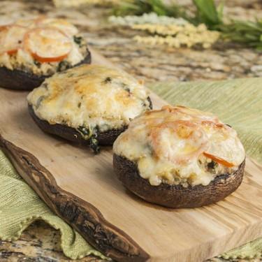 Spinach and Quinoa Portabella Mushrooms Recipe | SideChef
