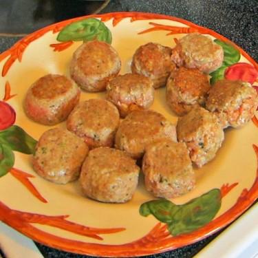 Turkey Pesto Meatballs Recipe   SideChef