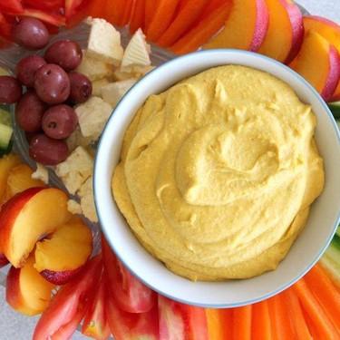 5 Minute Spicy Paprika Tahini Hummus Recipe   SideChef