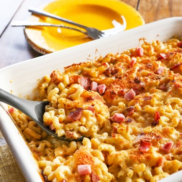 Ham and Bacon Mac and Cheese Recipe | SideChef