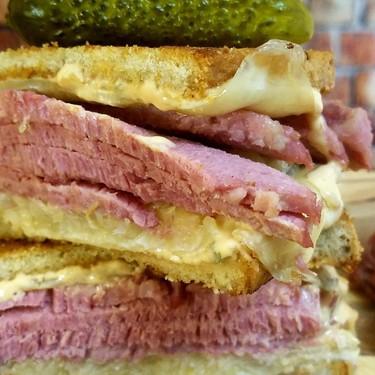 Lombard Street Grilled Reuben Sandwich Recipe   SideChef