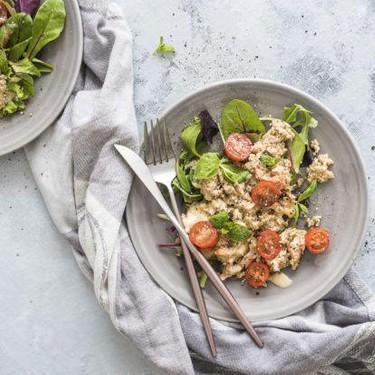 Quinoa Salmon Mayo Salad Recipe   SideChef