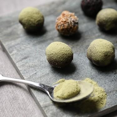 Dark Chocolate Vegan Truffles with Matcha Recipe | SideChef