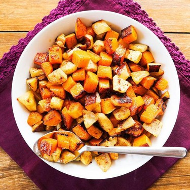 Roasted Butternut Squash with Apples Recipe   SideChef