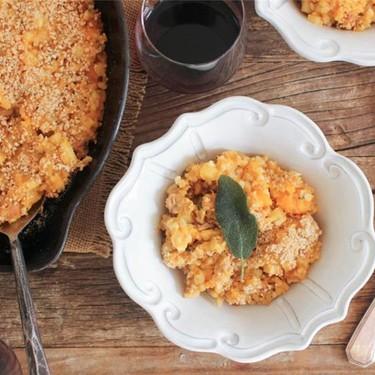 Butternut Squash Brown Rice Bake Recipe   SideChef