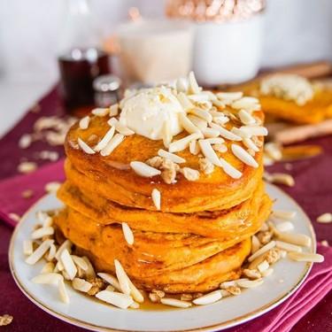 Vegan Pumpkin Spice Pancakes Recipe   SideChef