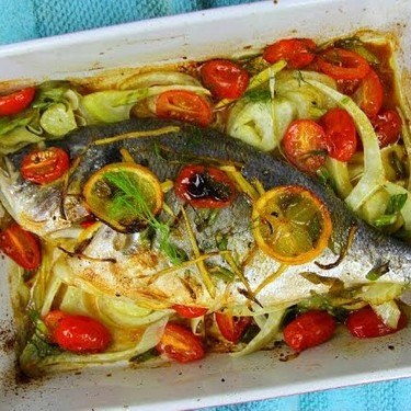 Simple Oven Roasted Sea Bass Recipe   SideChef