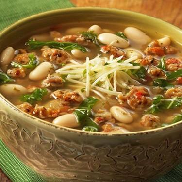 Tuscan White Bean Soup Recipe | SideChef