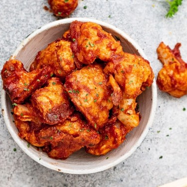 Vegan Buffalo Cauliflower Wings Recipe | SideChef