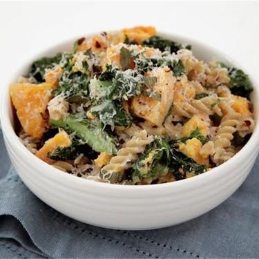 Butternut Squash and Kale Fusilli Pasta Recipe   SideChef