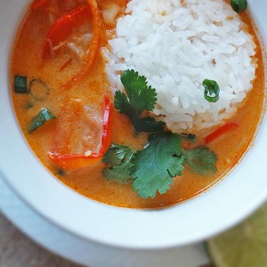 Light Thai Red Curry Soup Recipe   SideChef