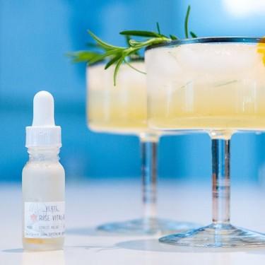 Refreshing CBD Rosemary Lemonade Spritz Recipe   SideChef