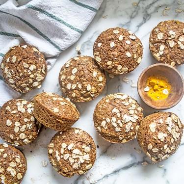 Turmeric Ginger Banana Muffins Recipe | SideChef