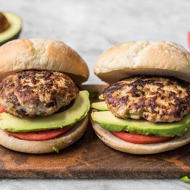 Green Chile Turkey Burgers Recipe | SideChef