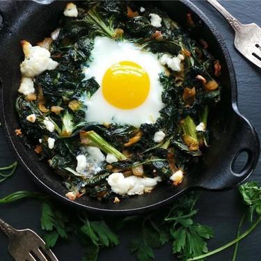 Baked Breakfast Greens Recipe | SideChef