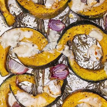 Honey-Glazed Gorgonzola Squash Recipe | SideChef