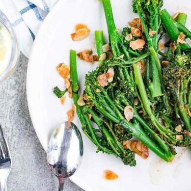 Tenderstem Broccoli with Garlic & Almond Recipe | SideChef