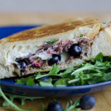Blueberry Balsamic Grilled Cheese Recipe | SideChef