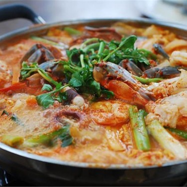 Haemul Jeongol (Spicy Seafood Hot Pot) Recipe   SideChef