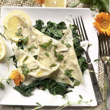 Easy Basil Ricotta Ravioli Recipe | SideChef
