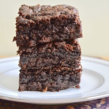 Fudgy Zucchini Brownies Recipe | SideChef