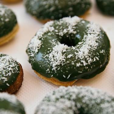 Matcha Mochi Coconut Doughnuts Recipe   SideChef