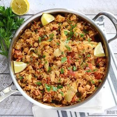 Spanish Chickpeas and Rice Recipe | SideChef