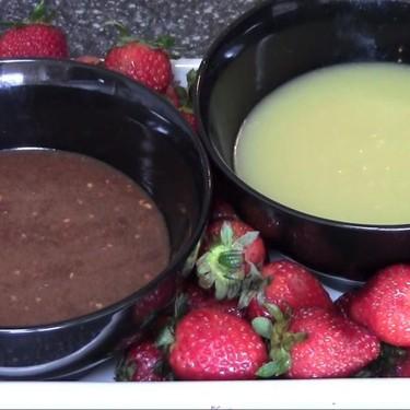 Chocolate Fondue Dips Recipe   SideChef