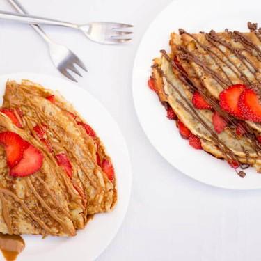 Amazing Strawberry Nutella & Biscoff Crepes Recipe   SideChef