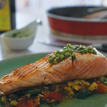 Crispy Skin Salmon Recipe   SideChef