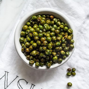 Easy Roasted Salted Green Peas Recipe | SideChef