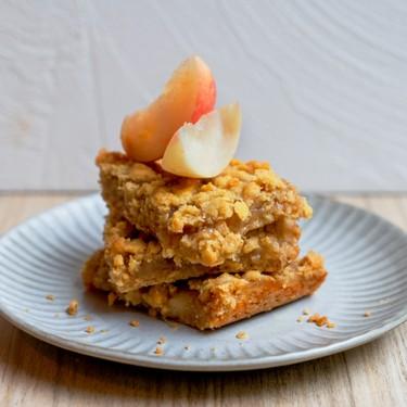 Peach and Ginger Jam Bars Recipe   SideChef