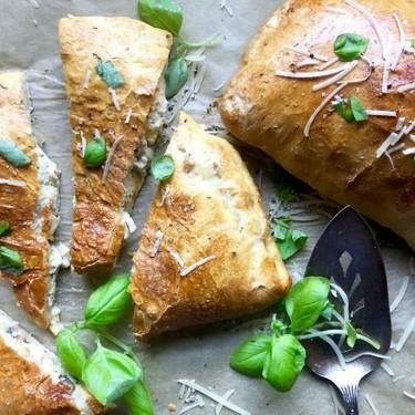 Chicken and Mushroom Calzone Recipe   SideChef
