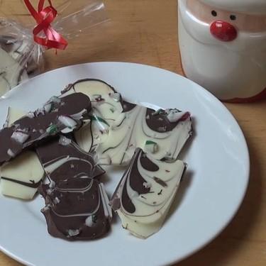 Christmas Chocolate Bark Recipe | SideChef