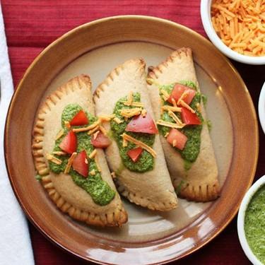 Vegan Empanadas with Jalapeno Lime Sauce Recipe   SideChef