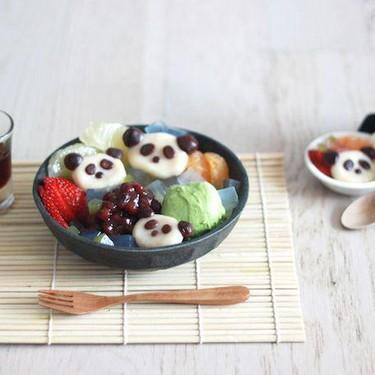 Panda Shiratama Anmitsu Recipe | SideChef