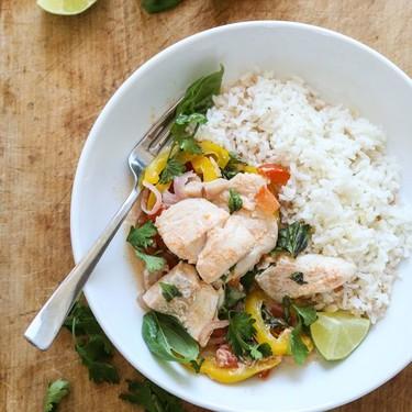 "Brazilian-Style ""Moqueca"" Fish Packets with Coconut Milk Recipe | SideChef"