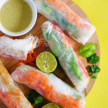 Thai Green Curry Spring Rolls Recipe   SideChef