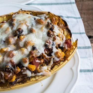 Stuffed Spaghetti Squash Burrito Bowl Recipe | SideChef