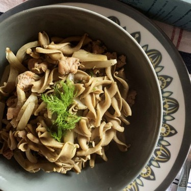 Low Carb Pasta with Turkey Sausage and Fennel Recipe | SideChef