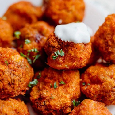Buffalo Mushroom Poppers Recipe   SideChef