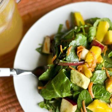 Avocado Mango Fruit Salad Recipe | SideChef