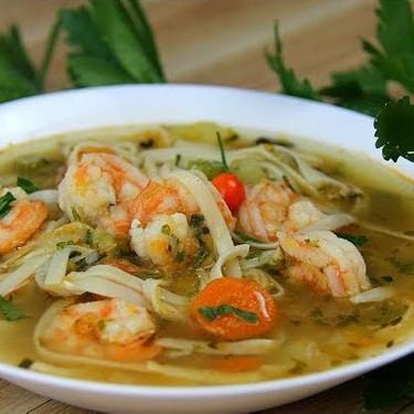 Caribbean Shrimp Broff (Soup) Recipe | SideChef