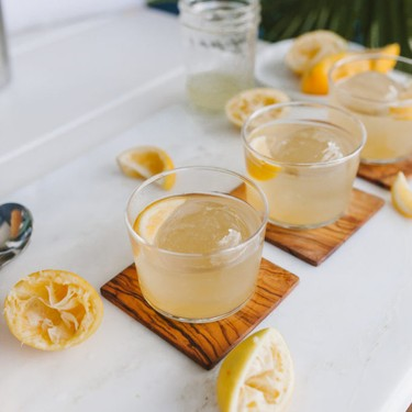 Summer Bourbon Cocktail with Pineapple and Ginger Recipe | SideChef