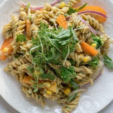 Creamy Avocado Pasta Salad Recipe   SideChef