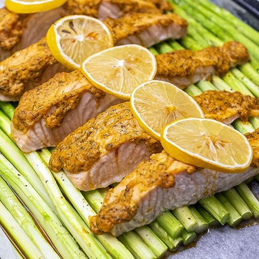 Sheet Pan Salmon Recipe   SideChef
