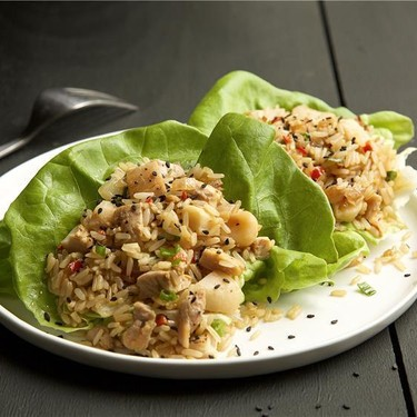 Chicken Lettuce Wraps Recipe | SideChef